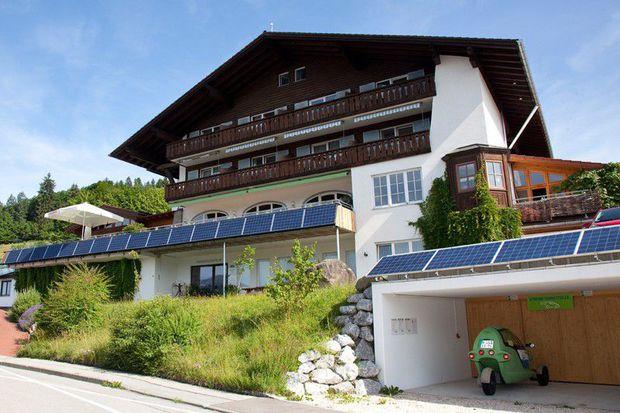 PV-Komplettanlage Hotelkonzept GermanPV