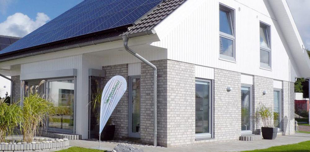 PV-Komplettanlage Fertigteilhäuser GermanPV